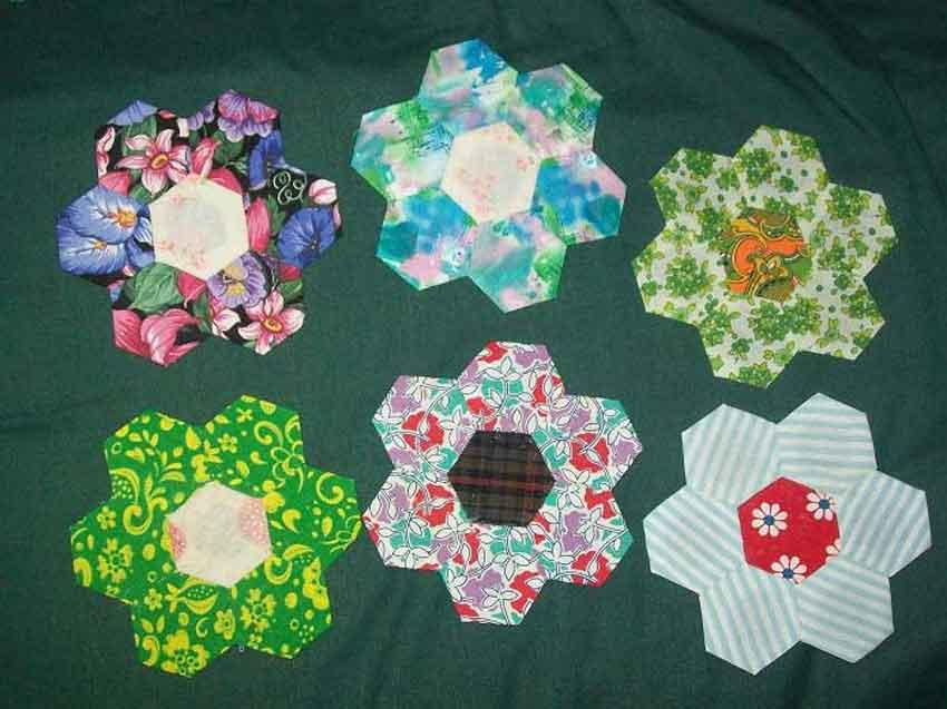 Hexagon Flowers