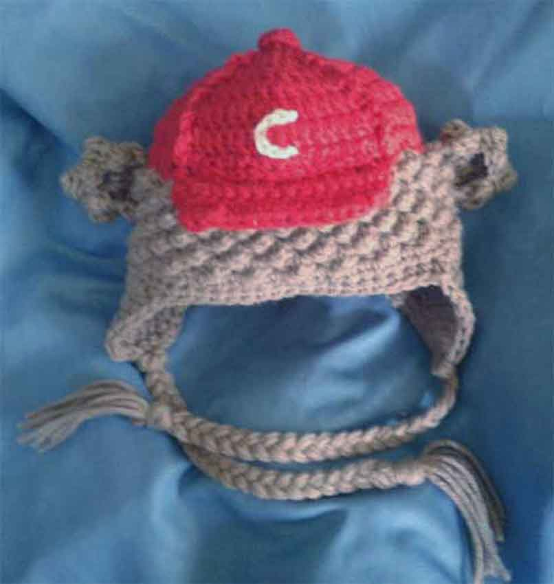 Baseball Bear Cub Hat